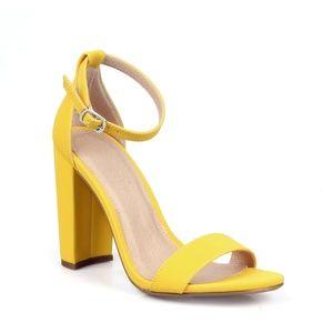 Becca-01 Two Piece Women's High Heel Sandals